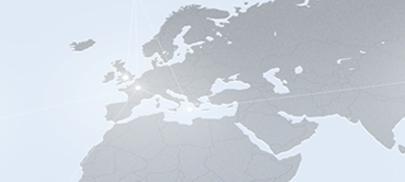 BIODERMA dans le Monde - Continent et Pays